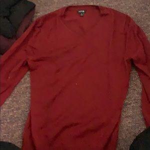 Red Men's Sweater